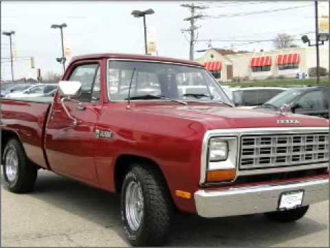 1982 dodge ram 150 st charles il youtube. Black Bedroom Furniture Sets. Home Design Ideas