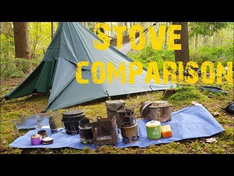Bushcraft / Wild camping advice, stove comparison