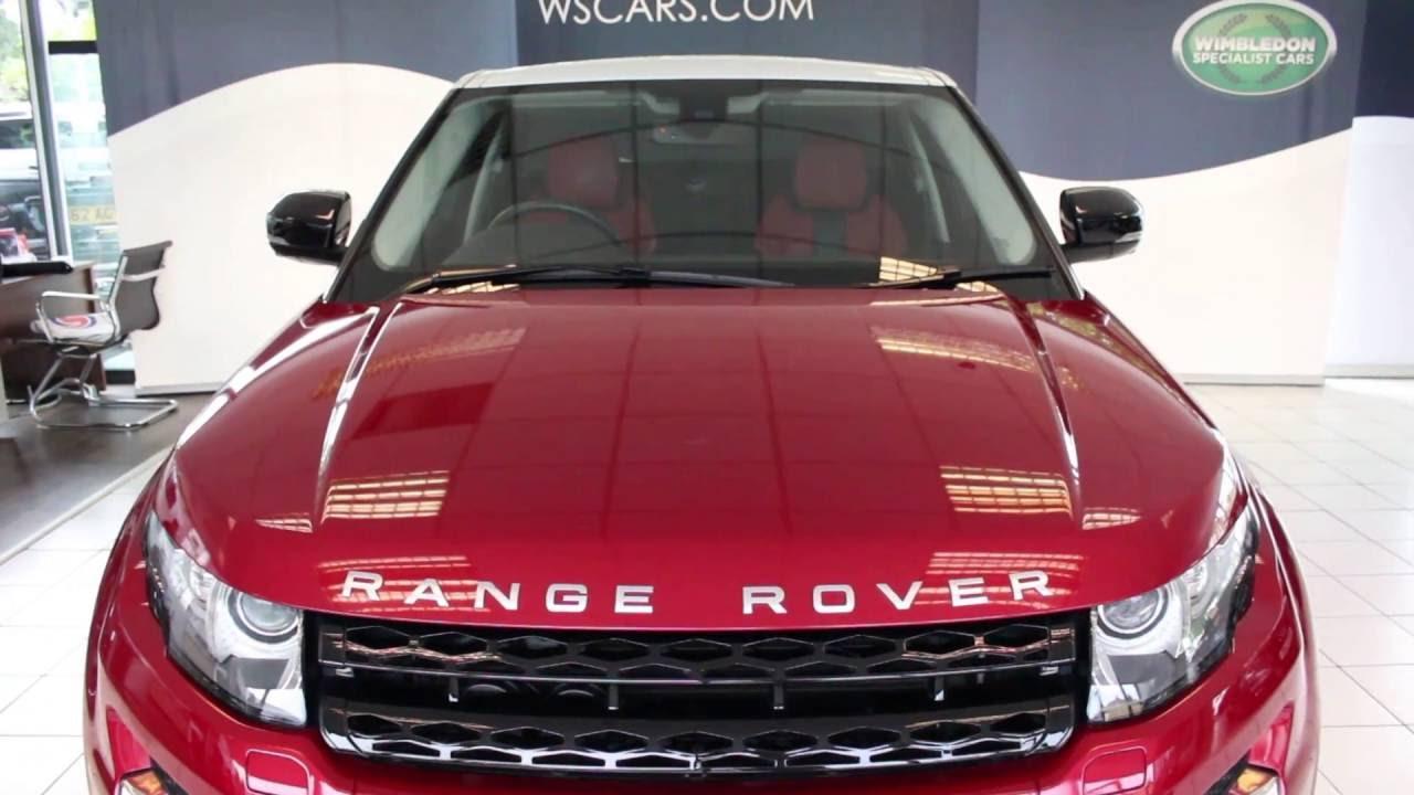 Range rover pimento ebony interior