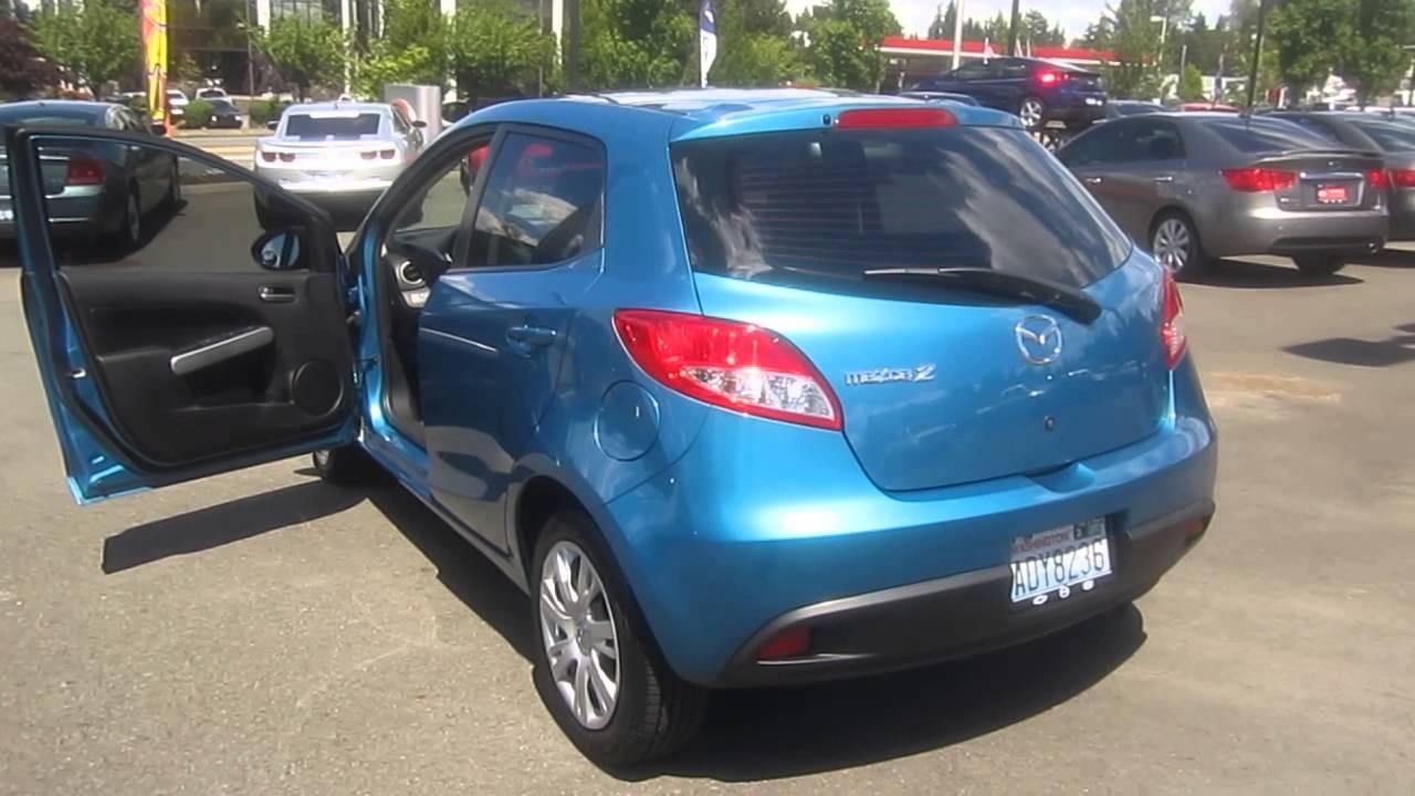 2011 Mazda 2, Aquatic Blue - STOCK# C1306771 - Walk around - YouTube