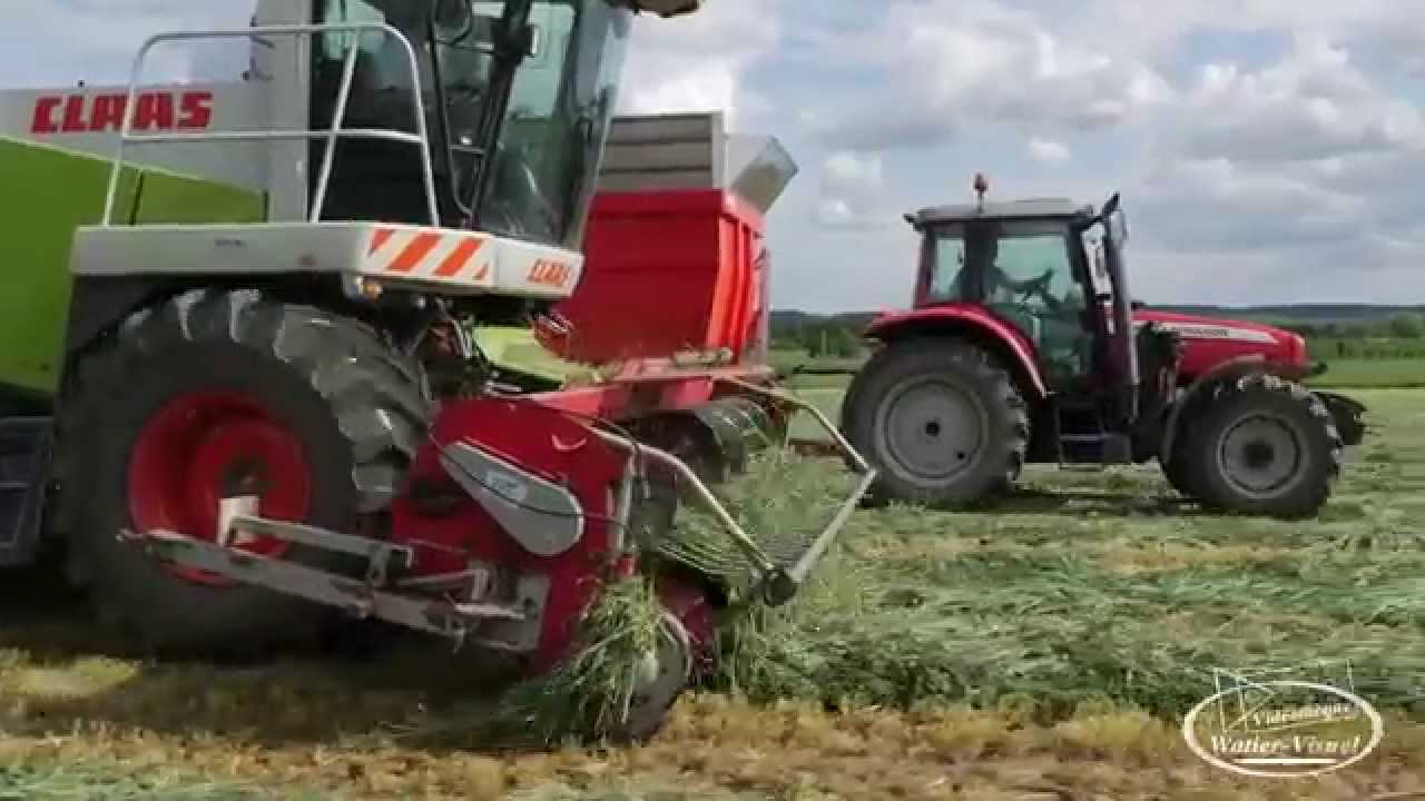 Video ensileuse claas