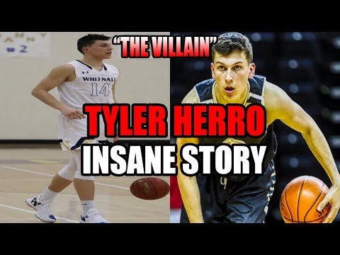 HE'S THE MOST HATED HIGH SCHOOL BASKETBALL PLAYER OF ALL TIME!!! TYLER HERRO'S CRAZY STORY!
