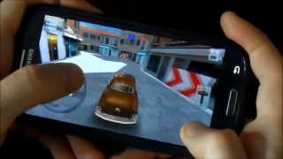 Classic Car Parking HQ - Galaxy S3 gameplay