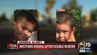 AMBER ALERT: The search continues for missing brothers