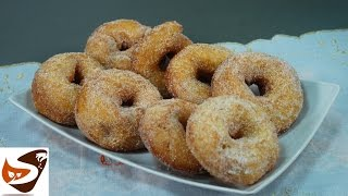 Ciambelle di patate: zeppole napoletane fritte - ricette dolci (potato donuts)