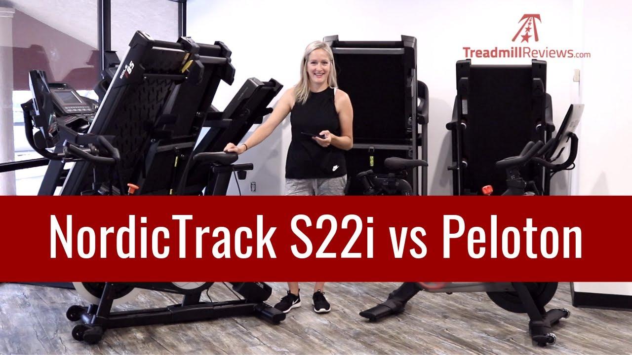 Peloton Bike Vs Nordictrack S22i Youtube