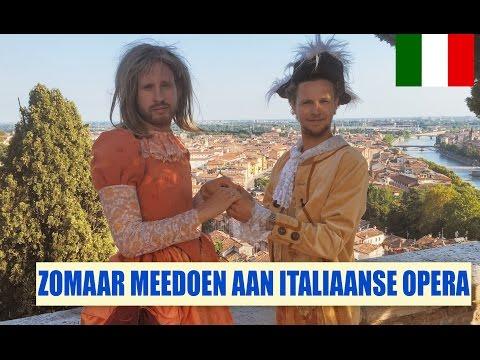 Streetlab - Meedoen aan een Italiaanse opera (Italië)