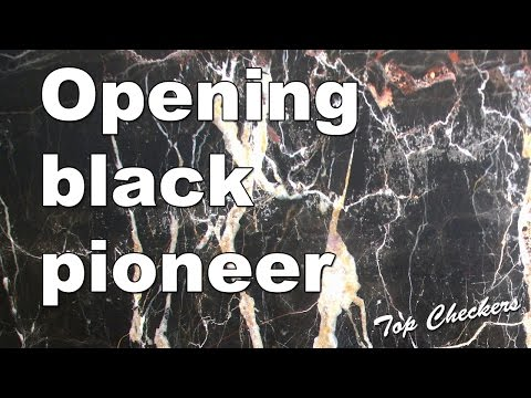 Checkers - Opening black pioneer