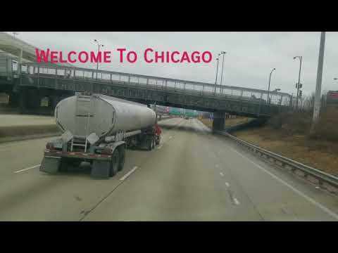 Driving Thru Chicago City Streets/Highways  Like A Boss!