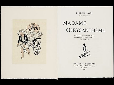 Prélude au 12ème Festival Musica Nigella - Madame Chrysanthème