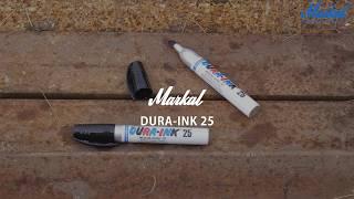 Обзор перманентного маркера Markal Dura-Ink 25