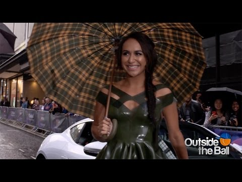 Heather Watson Wears the Perfect Dress for Singing in the Rain