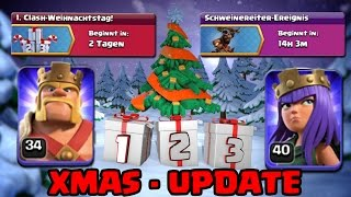 WEIHNACHTS-UPDATE ONLINE - EVENTS UND MEHR | CLASH OF CLANS [555] || [Deutsch/German HD+] ||