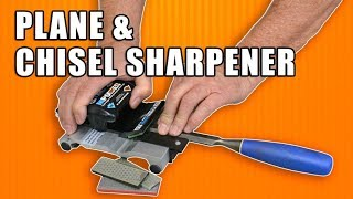How to Sharpen a Hand Plane & Chisel Sharpening w/ the Mpower Fasttrack MK2