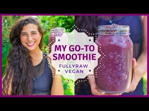 Everyday Go-To Smoothie Recipe | FullyRaw Vegan