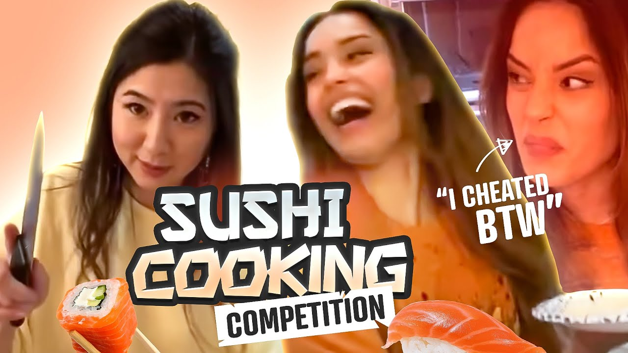 I CHEATED in our Cooking Competition..