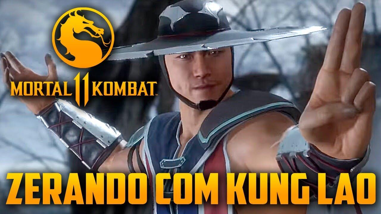 GAMEPLAYRJ - Mortal Kombat 11 - Zerando Com KUNG LAO no Hard, o Guerreiro Lendario