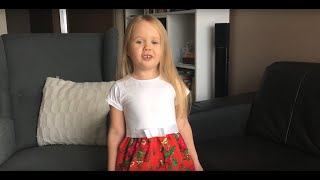 Hymn Polski - Nastka śpiewa 4 zwrotki