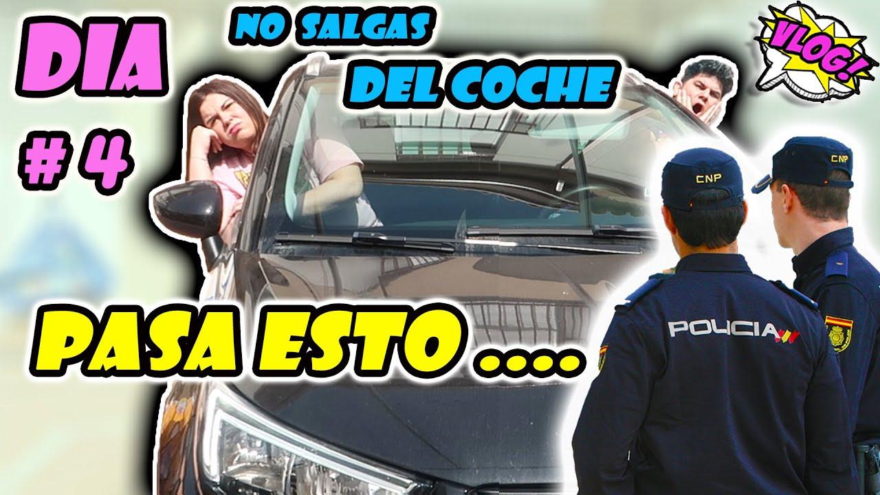 EL ULTIMO EN SALIR DEL COCHE GANA 1000€ 🤑 NOS PARA LA POLICÍA y PARA ESTO...