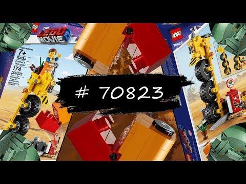 Конструктор LEGO The LEGO Movie 2 # 70823 Трехколёсный велосипед Эммета. Обзор
