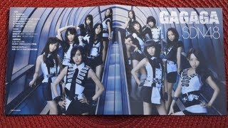 This is my unboxing video for SDN48 GAGAGA [CD+DVD Type B]. Please ...