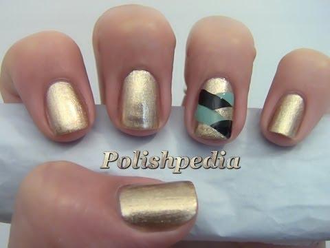 Fishtail Braided Accent Nail Art