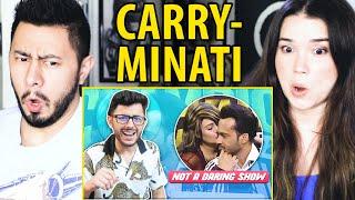 CARRYMINATI | Not A Daring Show Ft.  Wakar Zaqa | Reaction | Jaby Koay & Achara