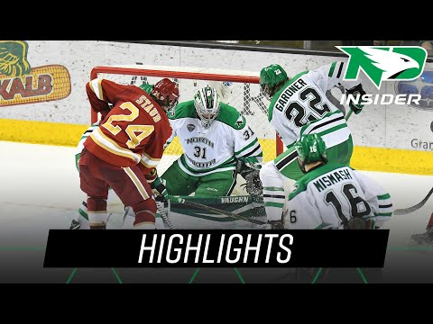 North Dakota vs. Denver | Highlights | UND Hockey | 12/7/18