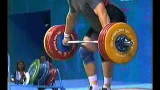 Olimpiada 2004 Тяжелая атлетика, мужчины 105+