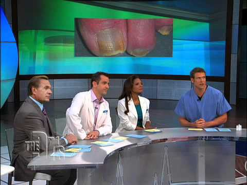 "The ""Doctors"" TV Segment- ""Foot Fungus"""