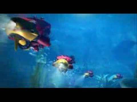 Crazy Frog Underwater