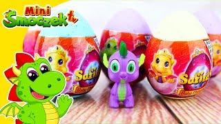 Spike z My Little Pony i Safiras Baby Princess Jajka Niespodzianki Bajka Dla Dzieci Po Polsku