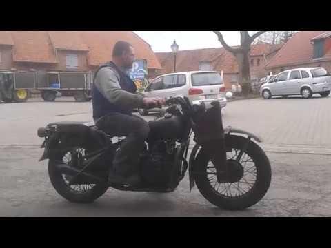 Harley Davidson XA 1942 First Ride