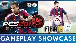 [TTB] FIFA 15 VS PES 2015 - Gameplay Comparison & More