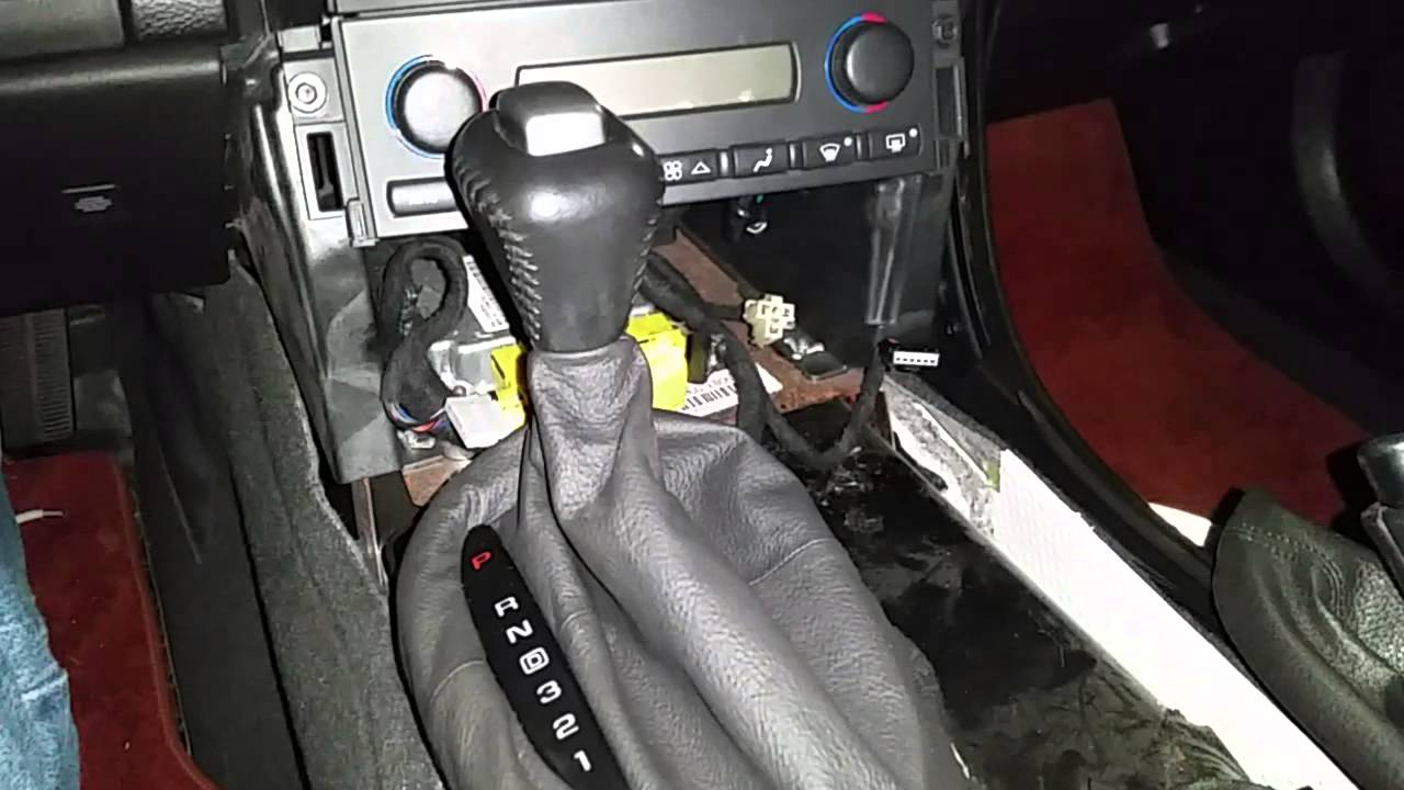 2005 c6 a4 shifter replacement  YouTube