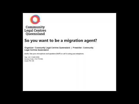 So you want to be a migration agent?