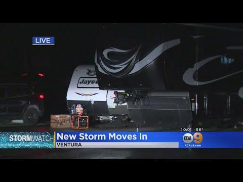 New Storm Moves Into Ventura County