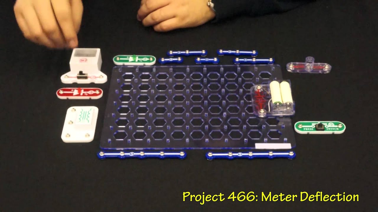 Snap Circuits Pro Model Sc 500 Youtube If You Like The Elenco Light Set Then May We Also