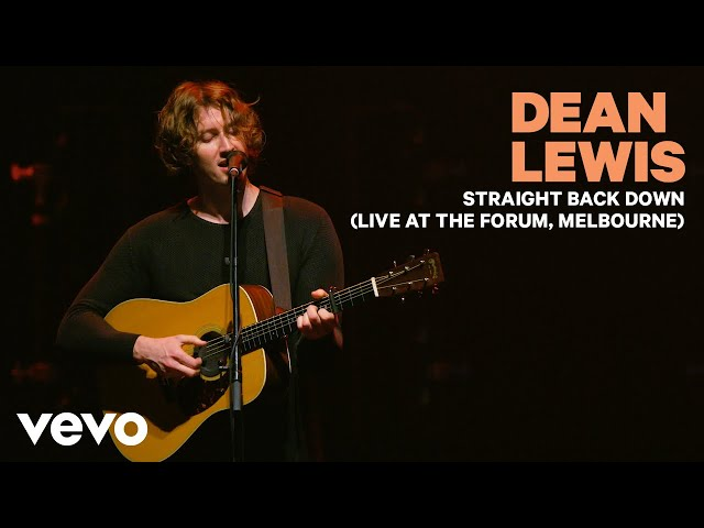 Dean Lewis – Straight Back Down (Live At The Forum, Melbourne 2019)
