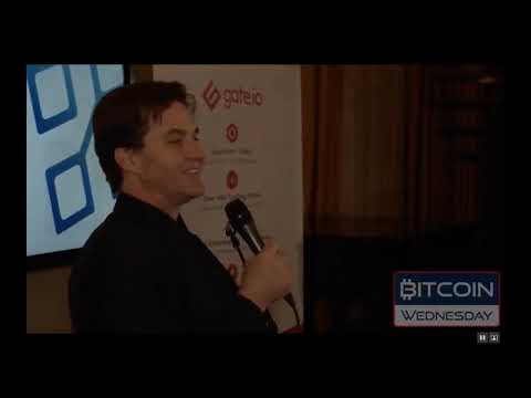 Summary of Craig Wright's talk at Bitcoin Wednesday