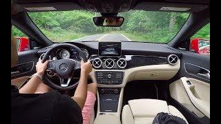 Does the Mercedes CLA250 Drive Like A Sports Car? Video