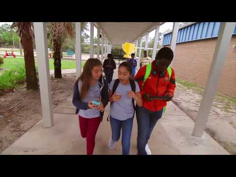 Mr. Warren and the Kids on the Slope Kahoot Commercial/Promo Video at Okeeheelee Middle School