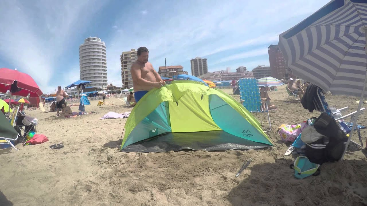 How to assemble a beach tent : ll bean beach tent - memphite.com