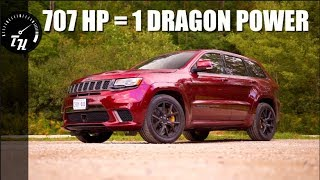2018 Jeep Trackhawk Review - An SUV To Scare The Whole Family