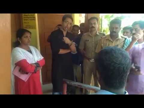 District collector angry reaction, kerala