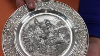 Видеообзор тарелки декоративной «Замок Нойшванштайн» (10084 Artina SKS)