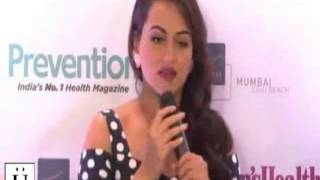 How To Get Slim - Tips By Sonakshi Sinha At Women's Health Magzine