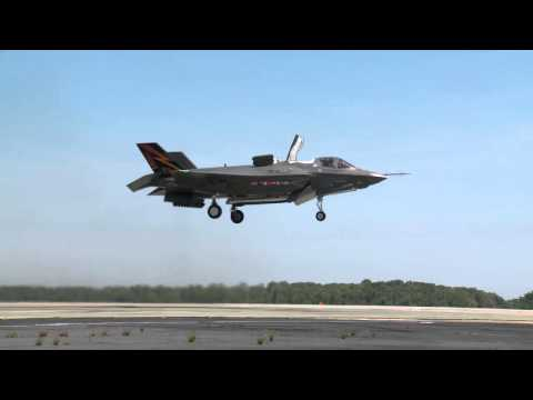 First F-35B Vertical Takeoff Test