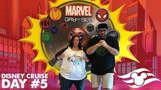Disney Cruise Day #5 :: MARVEL DAY AT SEA! :: Disney Magic to the Bahamas
