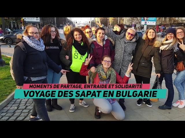 Le voyage culturel et solidaire des SAPAT en Bulgarie